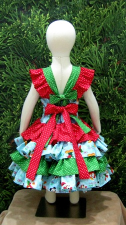 Custom Boutique Christmas Double bow Ruffle Dress.-handmade,dress,peasant tops,ruffles pant,pageant dress,supplies,commercial,sewing,fabric,pattern,children custom,dress,pants,applique,vintage,tutorial knitting,neddles,owls,apanese,kawaii,fabric,cotton fabric,cotton,ribbon,bows,hair clips,hair accessories,toddles,baby shower,girl,summer,tunic,wallet,purse,buttons,thread,international shipping,free shipping,flat rate