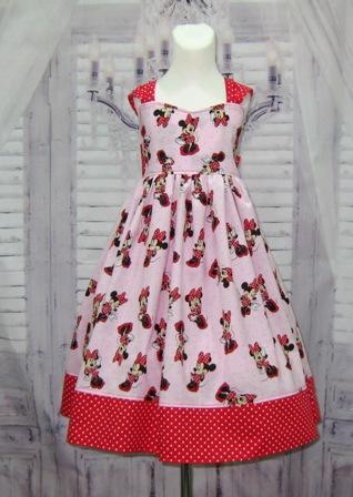Minnie Mouse Dress-Minnie dress, Minnie mouse dress, pink dress, red dress, church pink girl dress, toddler dress, infant dress, red bow, red polka dots bow, summer dress, smash cake dress, girl dress, birthday dress, fairy tale dress, princess dress
