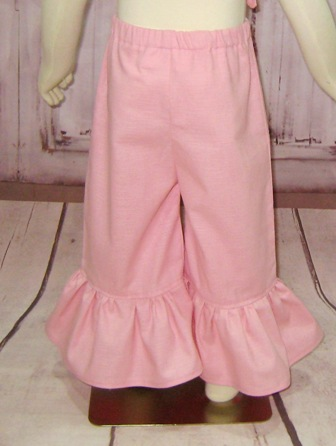 Girl Pink Ruffle Pant-girl pink pant, girl ruffle pant, toddler pink pant, pink pant, little girl pant, spring pant, back to school pant,