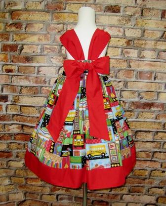 Back to School Dress-back to school dress, girl dress, pink dress, girl red dress, ruffle dress, summer dress, fall dress, Easter dress, yellow girl dress, toddler dress, infant dress, church dress