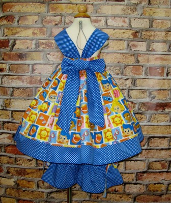 Bubble Guppies Outfit-Bubble Guppies dress, Bubble Guppies outfit, fall girls dress, summer girl dress, toddler dress, winter girl dress,birthday girl dress, Easter dress, back to school outfit, blue dress, ruffle pant, toddler outfit, infant outfit