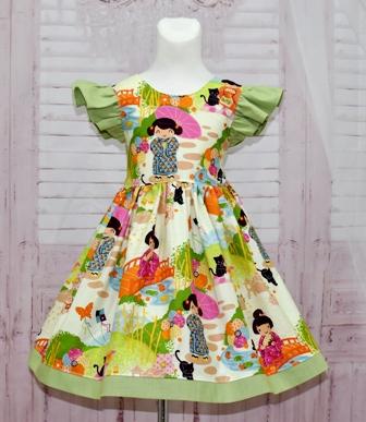Japanese Girl Dress