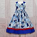 Blue Sunbonnet Dress
