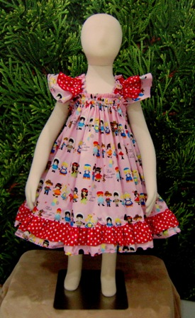 Girls of the World baby doll style dress