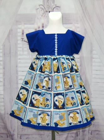 Bear Country Style Girl Dress