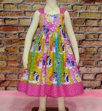 My Little Pony Dress-Cinderella dress.twirly skirt,disney dress,OOC,OOAK,ruffle dress,toddler dress,summer dress,flower girl dress,back to school,blue dress,blue outfit,infant dress,kid top,handmade girl dress,made to order dress,custom made kid clothes,red dress,pink,big bow,flutter sleeve,ruffle neck dress toddler dress,infant blouse,fairy tale dress,princess dress,purple dress,flower dress