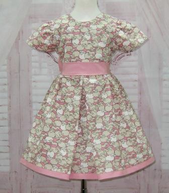 Little Lamb Pink Dress