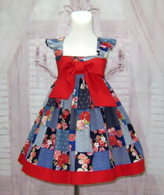 Red Bow Girl Dress