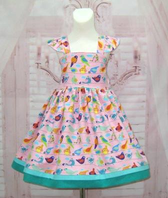 Pink Bird Dress.