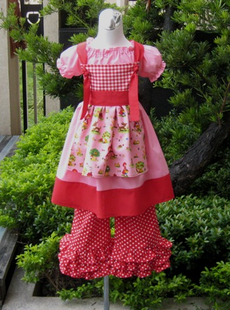 PAGEANT CUSTOM BOUTIQUE KNOT DRESS TOP AND PANT OUTFIT   FRANCISBEL
