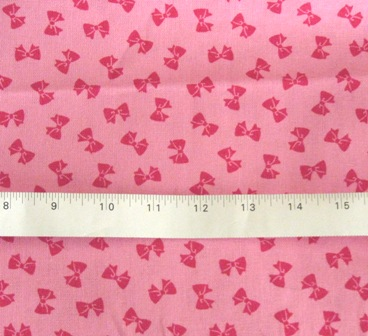 HOT PINK BOWS JAPANESE COTTON FABRIC-supplies,commercial,sewing,fabric,pattern,handmade,children custom,dress,pants,applique,vintage,tutorial knitting,neddles,owls,japanese,kawaii,fabric,cotton fabric,cotton,ribbon,bows,hair clips,hair accessories,toddles,baby shower,girl,summer,tunic,wallet,purse,buttons,thread,international shipping,free shipping,flat rate