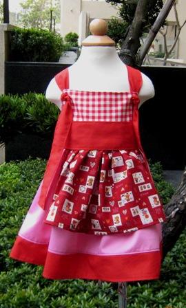 Pageant Custom Boutique Sunbonnet Knot Dress