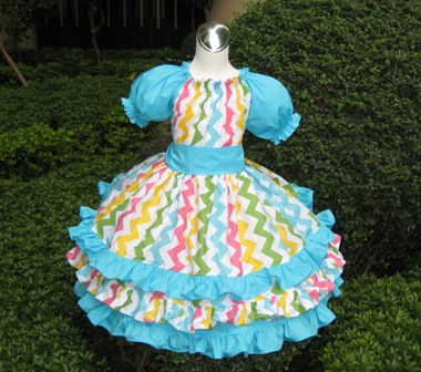 Caribbean Carnival Triple Ruffle Peasant Dress-handmade,dress,peasant tops,ruffles pant,pageant dress,supplies,commercial,sewing,fabric,pattern,children custom,dress,pants,applique,vintage,tutorial knitting,neddles,owls,apanese,kawaii,fabric,cotton fabric,cotton,ribbon,bows,hair clips,hair accessories,toddles,baby shower,girl,summer,tunic,wallet,purse,buttons,thread,international shipping,free shipping,flat rate