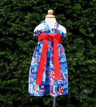 Patriotic Halter Dress