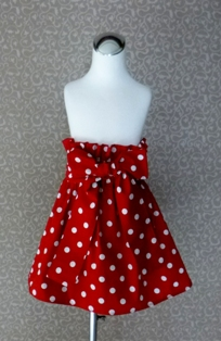 Red Polka Dots Skirt-handmade,dress,peasant tops,ruffles pant,pageant dress,supplies,commercial,sewing,fabric,pattern,children custom,dress,pants,applique,vintage,tutorial knitting,neddles,owls,apanese,kawaii,fabric,cotton fabric,cotton,ribbon,bows,hair clips,hair accessories,toddles,baby shower,girl,summer,tunic,wallet,purse,buttons,thread,international shipping,free shipping,flat rate