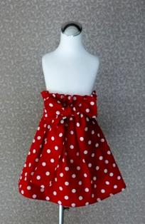 Red Polka Dots Skirt