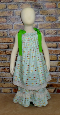 The Sweetest Thing Bird peasant top and pant set