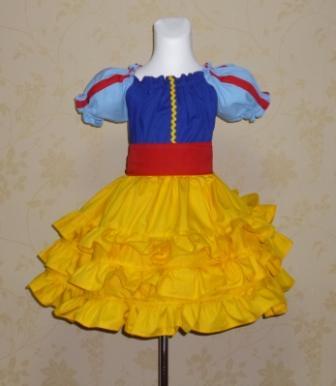 Snow White inspired peasant dress-halter dress,twirly,red,white,summer dress,disney dress, ruffle dress,retro,skirt,ooak,ooc,pageant dress,handmade,custom orders,blue,polka dots dress,bow dress,ruffle dress