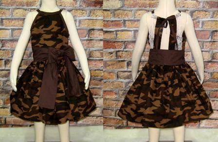 Camouflage Lace Dress